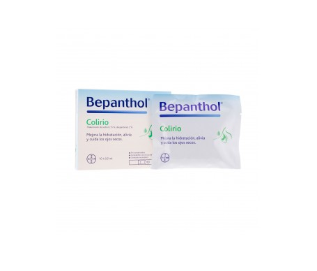 Bepanthol® colirio estéril 10 monodosis x 0,5ml