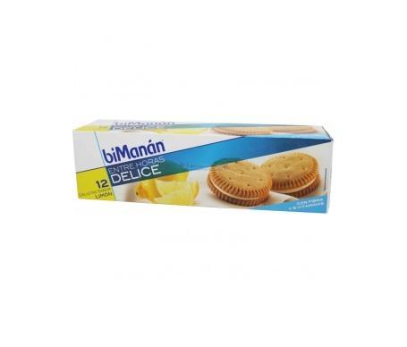 biManán® Entre Horas Delice galletas limón 12uds