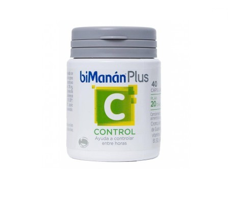 biManán® Plus C Control 40cáps