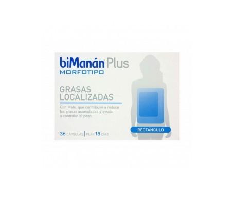 biManán® Plus Morfotipo Rectángulo 36cáps