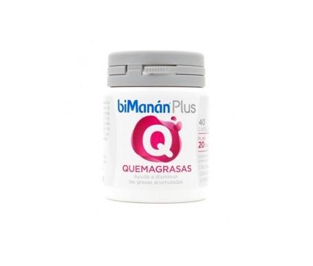 biManán® Plus Q quemagasas 40cáps