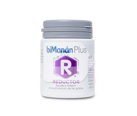 biManán® Plus R reductor 40cáps