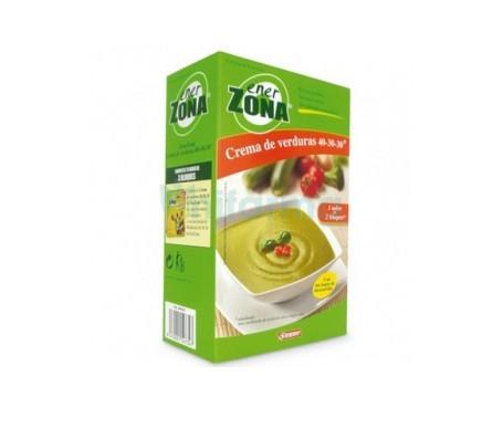 Enerzona crema verduras 4 sobres