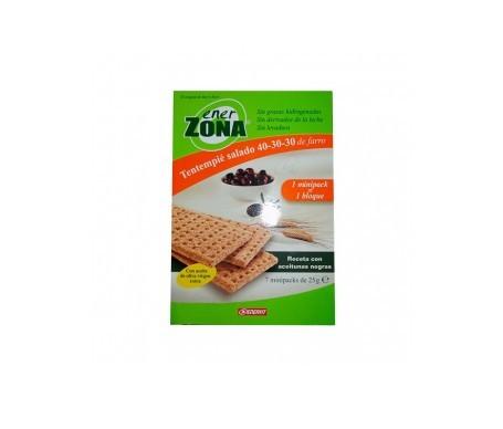 Enerzona snack receta aceitunas negra 7 minipacks