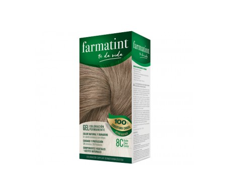 Farmatint Classic 8C light blonde ash 135ml