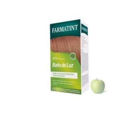Farmatint Baño de luz 8.74 rubio canela 75ml