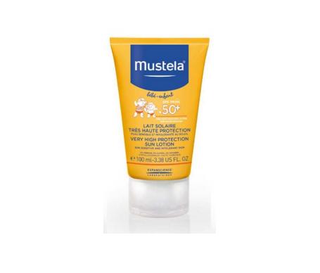 Mustela leche solar SPF50+ 100ml