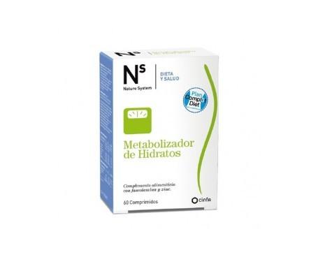 NS Metabolizador de Hidratos 60comp
