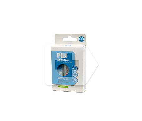 PHB pack pasta sensitive viaje 15ml X 3