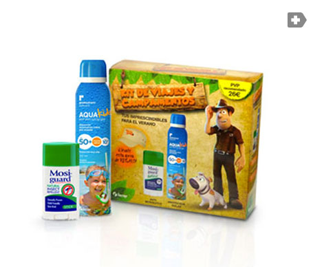 Protextrem® pack Aqua Kids SPF50+ 150ml + Mosiguard Antimosquito