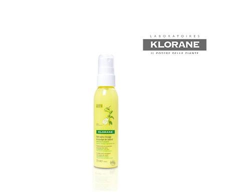 Traitement Klorane à la pulpe d'agrumes sans rinçage 125ml