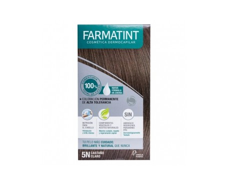 Farmatint 5N castaño claro 60ml