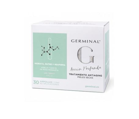 Germinal® 3.0 tratamiento antiaging 30amp