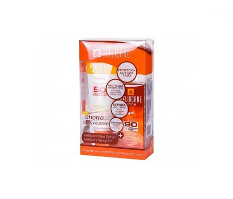 Heliocare Pack Advanced SPF50+ spray 200ml + Ultra SPF90+ gel 50ml