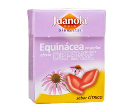 Juanola® perlas equinácea sabor cítrico 25g