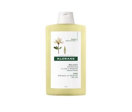 Klorane Shampooing à la cire de magnolia 400 ml