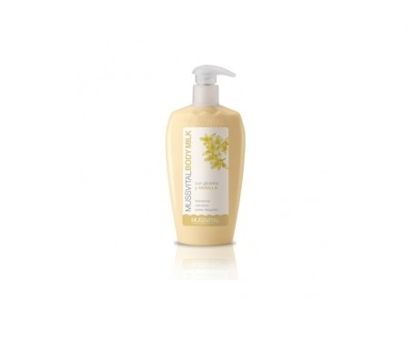 Mussvital body milk vainilla y glicerina  300ml