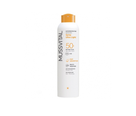 Mussvital solar 50+ spray
