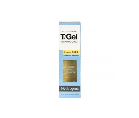 Neutrogena® T/Gel champú cabello normal y seco 250ml