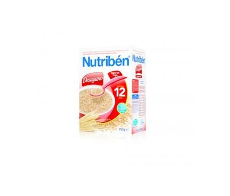 Nutribén® desayuno copos trigo 750g