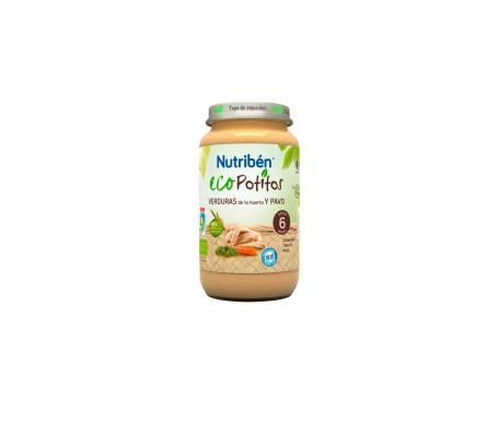 Nutribén® Eco Potito® verduras de la huerta y pavo 200g