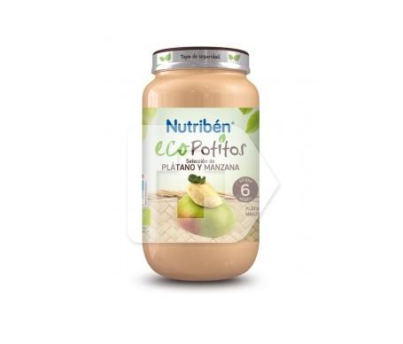 Nutribén® Eco Potitos® plátano y manzana 250g