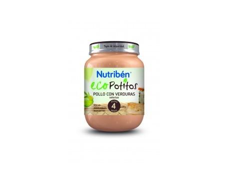 Nutribén® Eco Potitos® pollo con verduras 130g