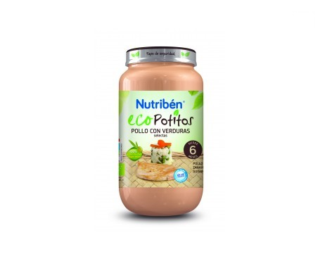 Nutribén® Eco Potitos pollo gourmet con arroz 250g
