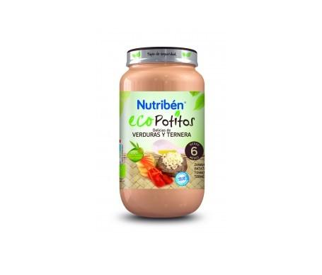 Nutribén® Eco Potitos® verduras de la huerta y pavo 250g