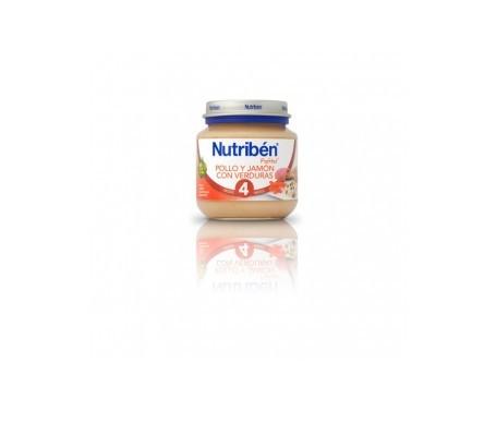 Nutribén® pollo jamón verduras 130g