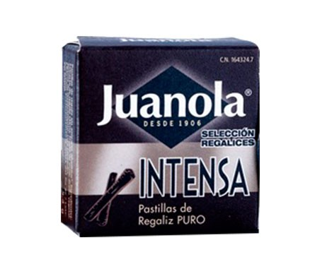 Juanola® pastillas intensas regaliz 5,4g