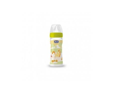 Chicco® biberón silicona flujo regulable 250Cc 1u