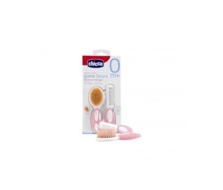 Chicco® cepillo y peine rosa 1 pack