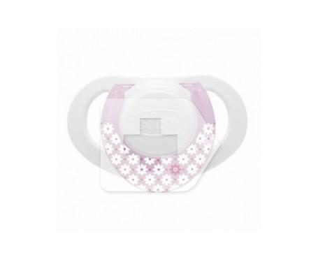 Chicco® chupete physio compact anatómico tetina látex rosa 2uds