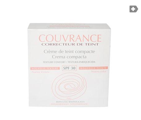 Avène Couvrance crema compacta color porcelana 9,5g