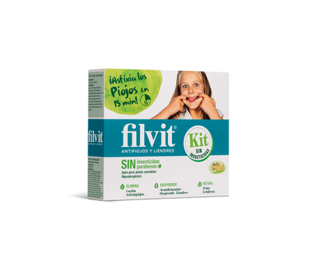Filvit antipiojos dimeticona 125ml