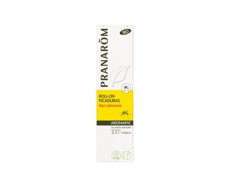 Pranarôm Aromapic gel calmante para picaduras roll on 15ml