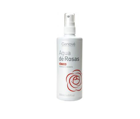 Genové tónico de agua de rosas spray 200ml