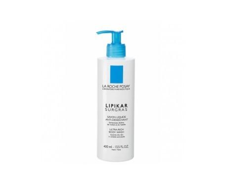 La Roche-Posay Lipikar Surgras jabón líquido 400ml