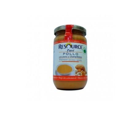 Nestlé Resource puré pollo pasta y champiñones 300g