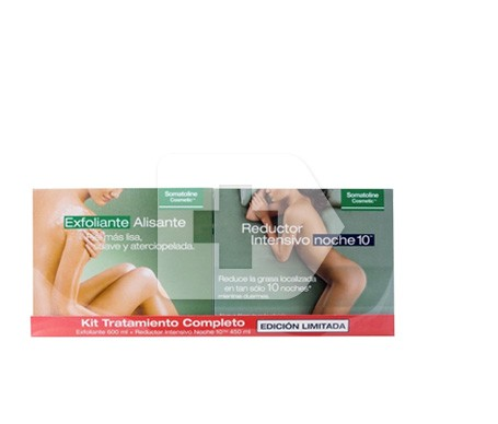Somatoline® reductor intensivo noche + exfoliante alisa 1 pack