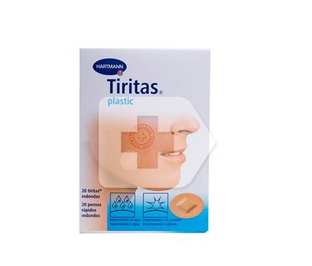Tiritas® plástico redondas 20uds