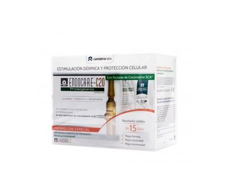 Pack Endocare C20 Proteoglicanos 30x2ml + Emulsión Cellage Day