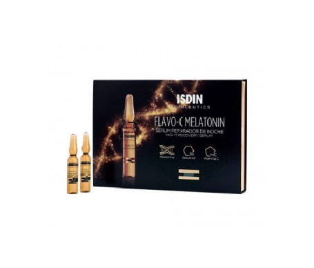 Isdinceutics Flavo-C Serum Reparador Noche 10x2ml