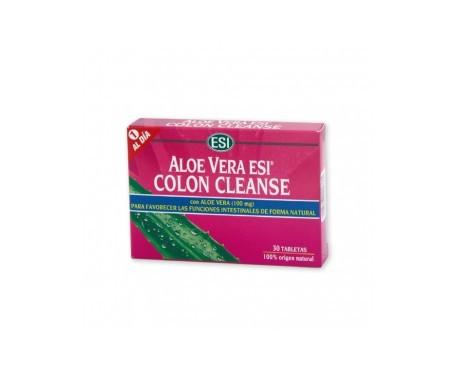 ESI Aloe Vera Colon Cleanse 30cáps