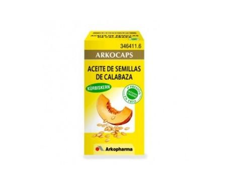 Arkocaps aceite de semillas de calabaza 50cáps