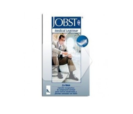 Jobst calcetín compresión normal azul talla M 1ud