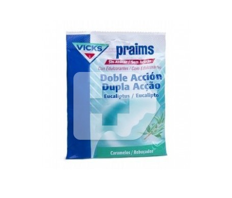 Praims caramelos doble acción bolsa 60g