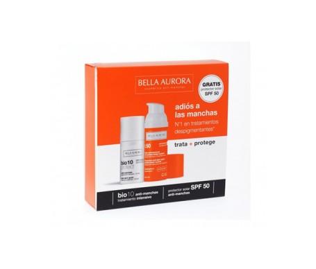 Bella Aurora Pack Bio 10 Protect Antimanchas + Crema Solar Prote
