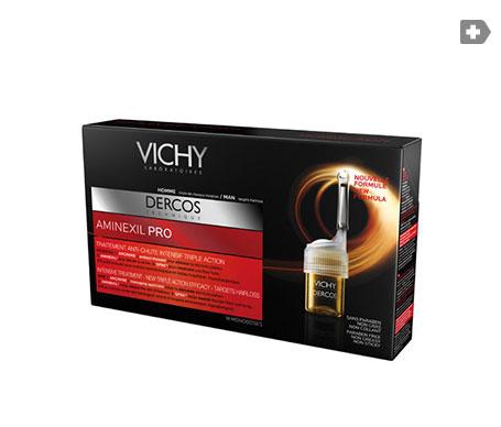 Vichy Dercos Aminexil Pro Homme 18 ampoules